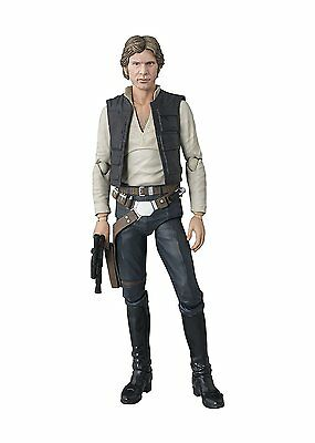 BANDAI S.H Figuarts Star Wars Han Solo A New Hope Painted Action Figure Japanese