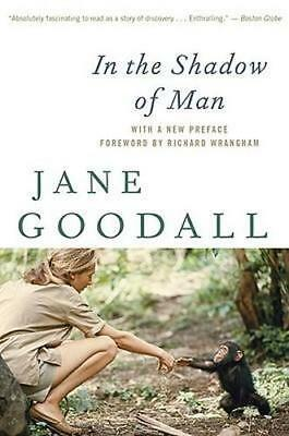 NEW In the Shadow of Man By Dr Jane Goodall Paperback Free Shipping