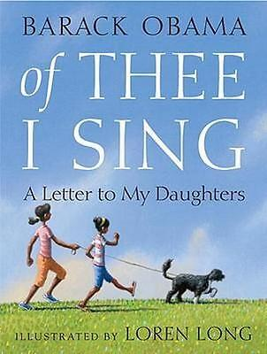 NEW Of Thee I Sing By Barack Obama Hardcover Free Shipping