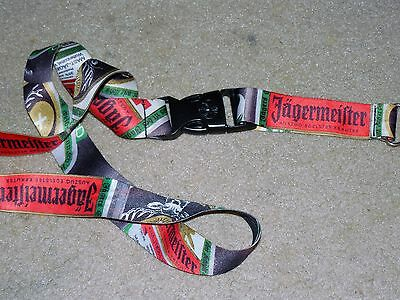 Jagermeister Lanyard Keychain Used Bar Liquor Collectible