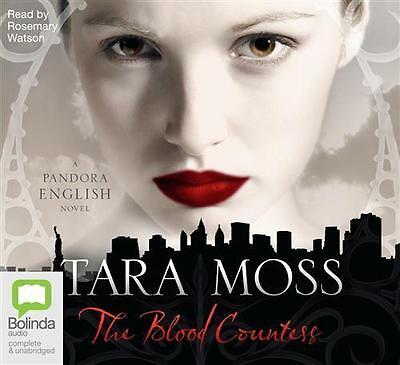 NEW The Blood Countess By Tara Moss Audio CD Free Shipping