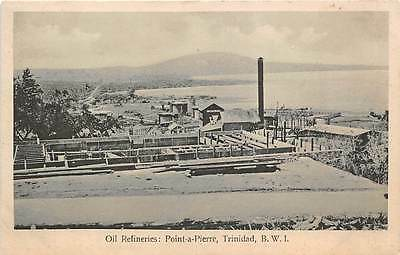POINTE-A-PIERRE, TRINIDAD, BWI ~ OIL REFINERIES OVERVIEW ~ c. 1910-20