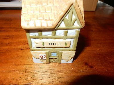 """Country Kitchen Spice Jar Collection """"Dill"""" 1994"""