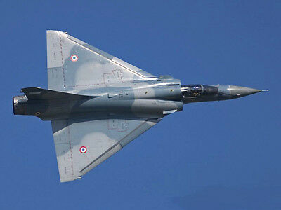 1/8 Scale Mirage 2000 DF, EDF, Turbine Plans and Templates