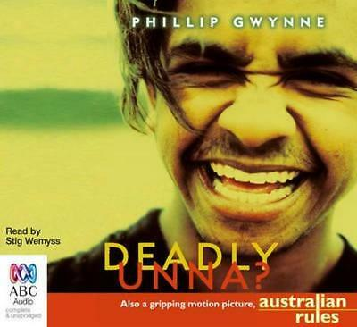 NEW Deadly, Unna? By Stig Wemyss Audio CD Free Shipping