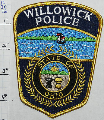 Ohio, Willowick Police Dept Patch