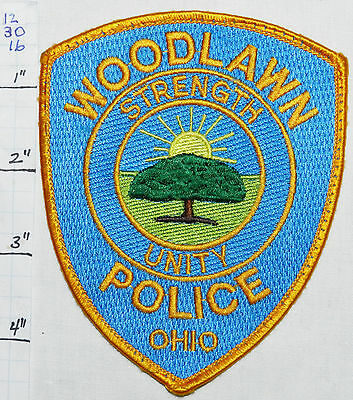 Ohio, Woodlawn Police Dept Patch