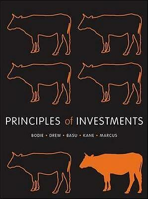 NEW Principles of Investments By Zvi Bodie Paperback Free Shipping