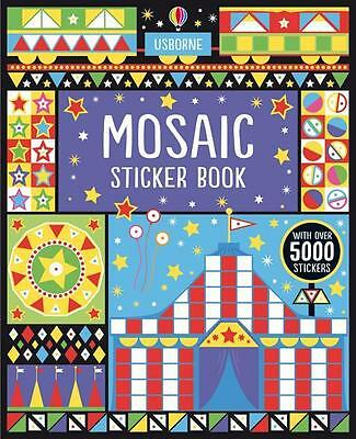 NEW Mosaic Sticker Book By Joanne Kirby Paperback Free Shipping