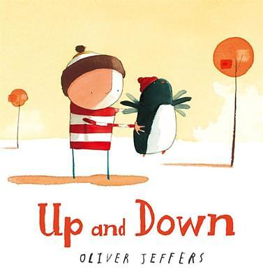 NEW Up and Down By Oliver Jeffers Board Book Free Shipping