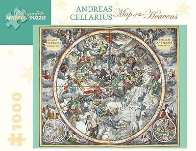NEW Map of the Heavens  By Andreas Cellarius Puzzle Free Shipping