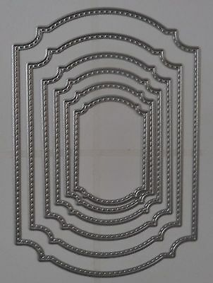 Frame Stitched Nest  Die   #124   *new*  Card Making Scrapbooking