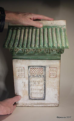Antique Chinese Pottery Funerary House Ming Dynasty Plus Certificate