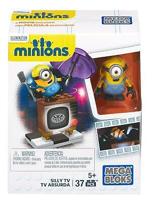 Despicable Me Minions Movie Megabloks - Silly TV Television - CFN49 - New