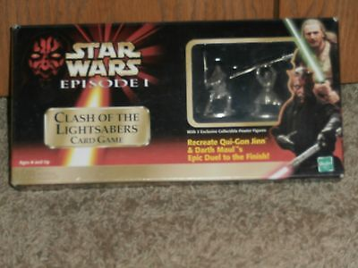 Clash of the Lightsabers Star Wars Card Game ,1999