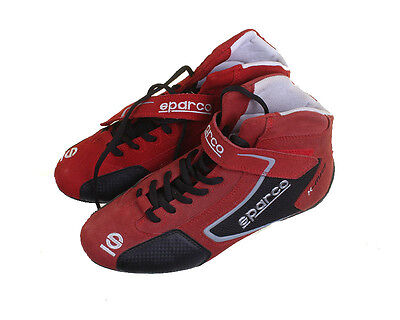 New Sparco K-Mid Red Boots, UK 3.5, Euro 36, Ex display, Slightly Faded RRP £55.