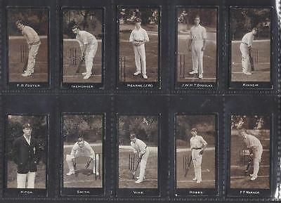 Smith - Cricketers (1-50) - Set Of 50