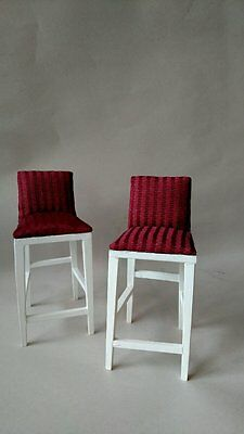 1:6 Scale Furniture for Fashion Dolls  Action Figures 4253 Counter Stools 2 pc.