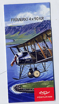 ICELAND 2009 CIVIL AVIATION Kr.360 BOOKLET SB88