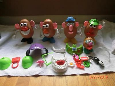Huge Lot Of Mr. Potato Heads. Plus Extra Parts. Very Nice Condition.
