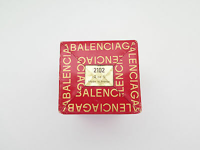 Balenciaga Le Dix 1/2oz Vintage Perfume in Original Red Box Sealed From France