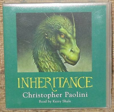 Inheritance By Christopher Paolini Audio Cd