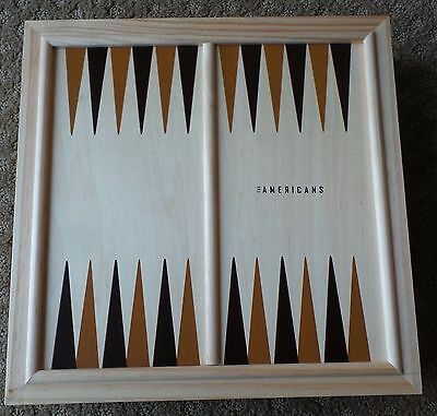 THE AMERICANS PROMO SWAG PROMOTIONAL chess game set promo holiday gift