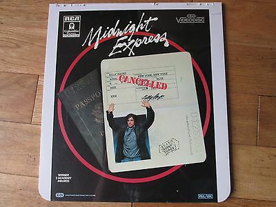 MIDNIGHT EXPRESS CED Video Disc PAL/UK NEW AND STILL SEALED!!