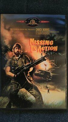 Missing In Action 1,2 & 3  DVD Chuck Norris // Out Of Print