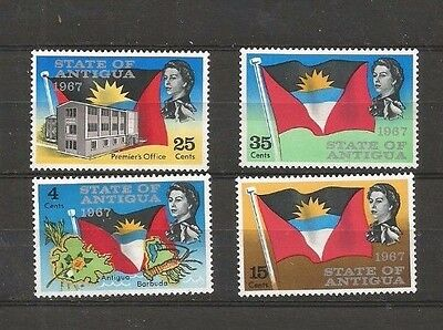 A Lovely Antigua 1967 Mint/nh Set. State Of Antigua