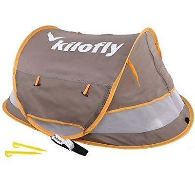 Instant Pop Up UV Protected Beach Tent for Baby Toddler by kilofly - Medium