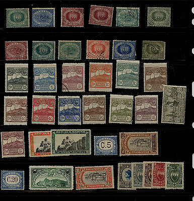 San  Marino   lot  of  early stamps  mint and used       KEL0129