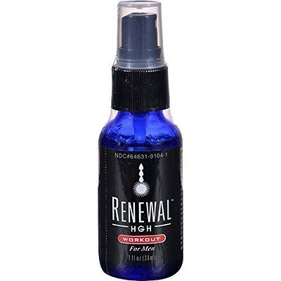 Renewal HGH Workout for Men 1 fl oz Homeopathic by BHE/UNFI
