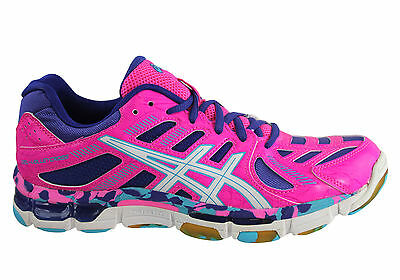 New Asics Gel-Volleycross Revolution Womens Netball/volleyball Shoes