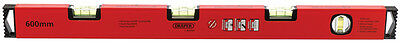 Draper Kapro 600mm Gradient Spirit Level - 0% - 1% - 2% - Drainage - Guttering