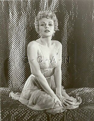 Org Vintage 40s-60s Risque Pinup RP- Well Endowed Woman