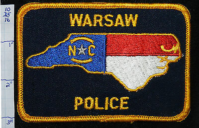 North Carolina, Warsaw Police Dept Patch