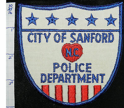 North Carolina, Sanford Police Dept Patch