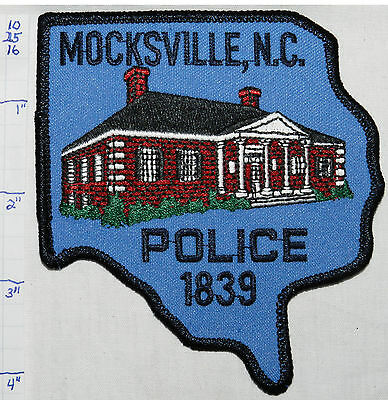 North Carolina, Mocksville Police Dept Patch