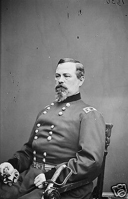 Union Army General Irvin McDowell Portrait Bull Run 8x10 US Civil War Photo