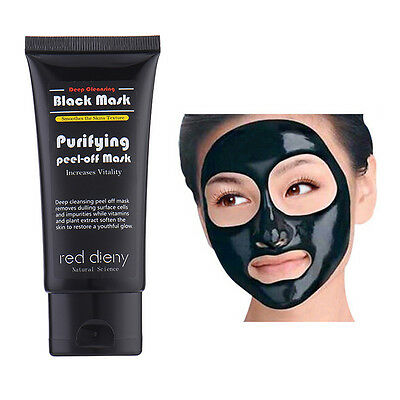 Blackhead Remover Deep Cleansing Purifying Peel Off Black Mud Face Mask