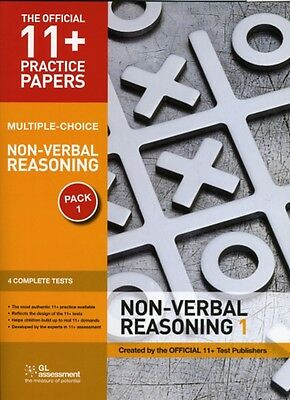 11+ Practice Papers, Non-verbal Reasoning Pack 1, Multiple Choice: Non-verbal R.