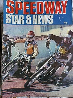 Speedway Star and News 19th June 1971