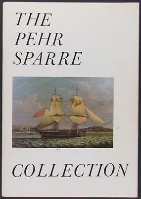Antique Maritime Paintings, Prints, Models - Pehr Sparre Collection 1975 Catalog