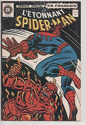 SPIDER-MAN #34 french comic français EDITIONS HERITAGE