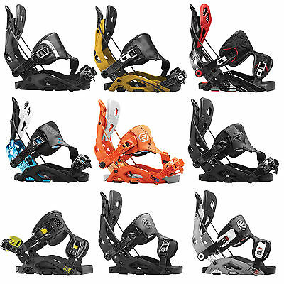 Flow Fuse Hombre Enganches snowboard GT FB Hybrid Fusion Step-In Enlaces NEU