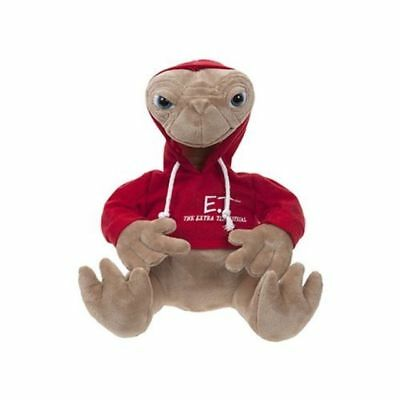 OFFICIAL E.T THE EXTRA TERESTRIAL 25cm RED HOODIE PLUSH SOFT TOY NEW WITH TAGS