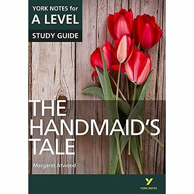 The Handmaid's Tale: York Notes for A-Level - Paperback NEW Prof Coral Ann  22/0