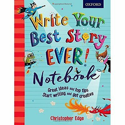 Write Your Best Story Ever! Notebook (Notebooks) - Paperback NEW Christopher Edg