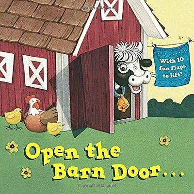 Open the Barn Door... - Board book NEW Christopher San 12-Jul-16